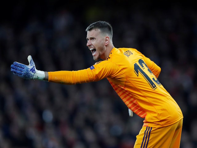 Valencia goalkeeper Neto pictured in May 2019
