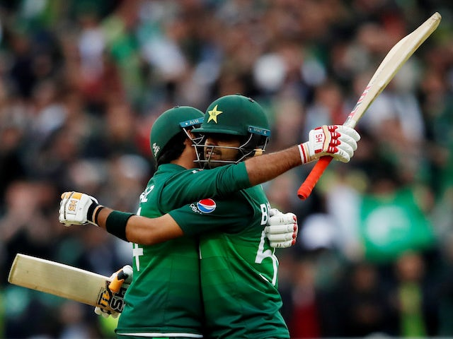 "Babar Azam ""confident"" Pakistan can reach semi-finals after New Zealand win"