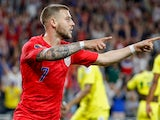 United States forward Paul Arriola (7) celebrates his goal against Guyana at the Gold Cup on June 18, 2019