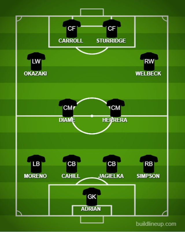 Out-of-contract Premier League XI