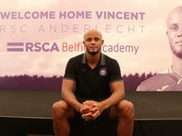 Vincent Kompany is unveiled as Anderlecht manager on June 25, 2019