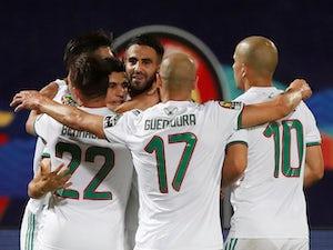 Riyad Mahrez scores as Algeria cruise into quarter-finals