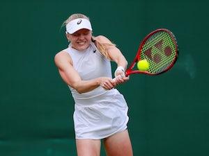 Harriet Dart picks up first Wimbledon win in front of Duchess of Cambridge