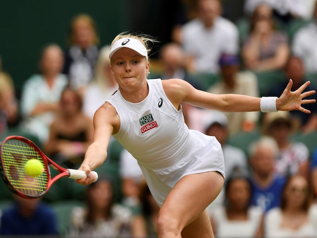 Result: Harriet Dart through to second round of qualifying at Australian Open