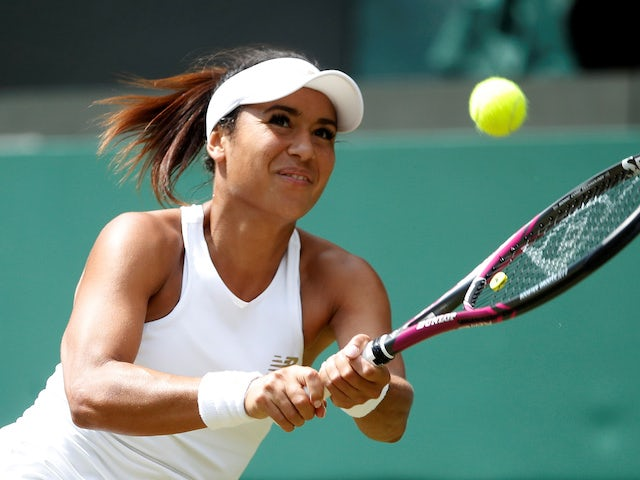 Heather Watson reflects on 'great experience' as she reaches Tianjin final