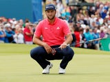 Jon Rahm in action at the Irish Open on July 7, 2019
