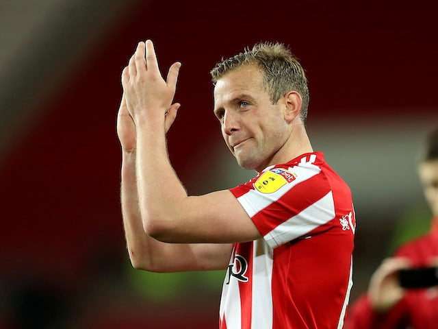 Lee Cattermole training with Dutch club