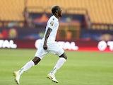 Mohamed Yattara celebrates scoring for Guinea on June 30, 2019