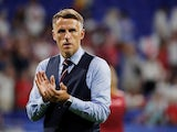 Phil Neville in charge of England on July 2, 2019