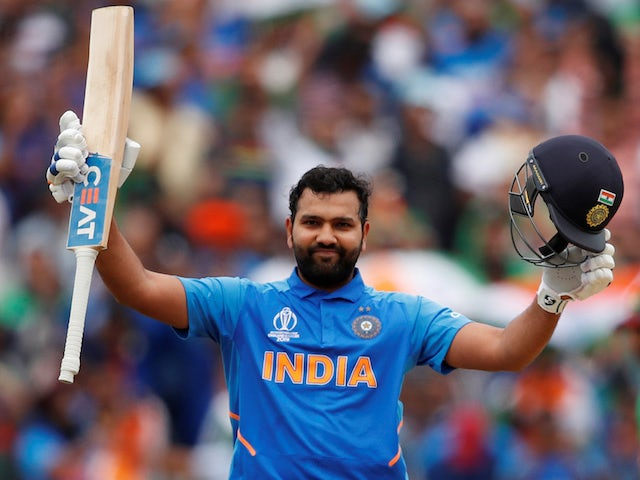 Result: Rohit Sharma hits fifth ton of World Cup as India crush Sri Lanka
