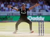 Trent Boult in action for New Zealand on June 29, 2019