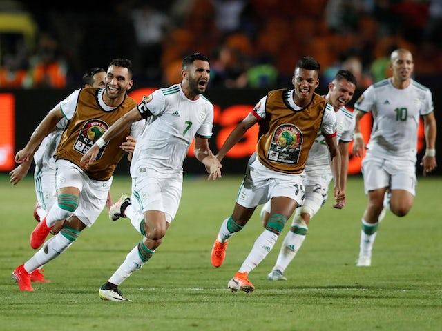 Result: Last-gasp Riyad Mahrez fires Algeria into AFCON final