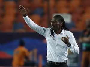 Senegal boss Aliou Cisse salutes on July 5, 2019