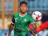 Anicet Abel in action for Madagascar on June 27, 2019