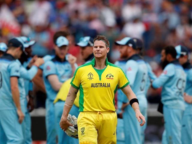 Australia recover to set England 224 target in World Cup semi-final