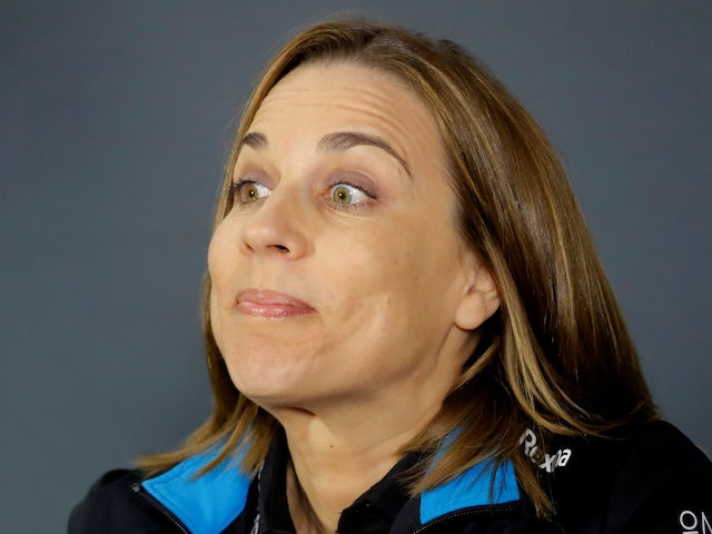 Claire Williams pictured on April 26, 2019