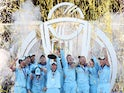 England celebrate winning the Cricket World Cup on July 14, 2019