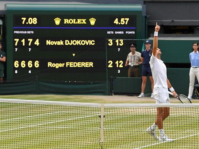 Top 20 Wimbledon Classics Since 2000: Djokovic vs Federer, final, 2019