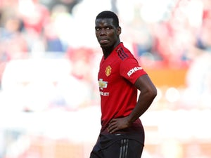 Paul Pogba in Premier League action for Manchester United on May 12, 2019