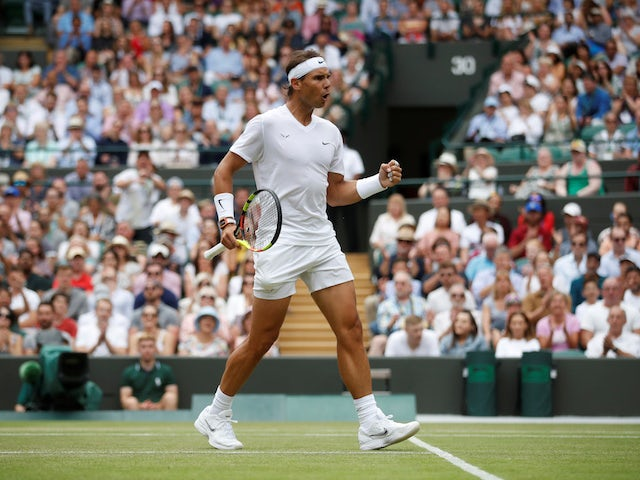 Rafael Nadal relishing renewing Wimbledon rivalry with Roger Federer
