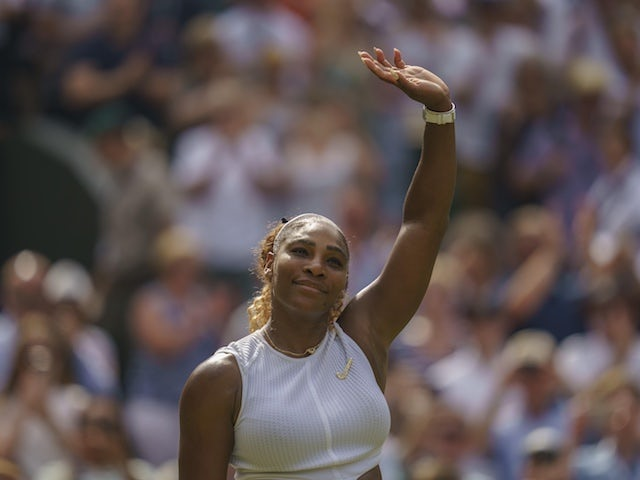Result: Record-chasing Serena Williams storms into Wimbledon final