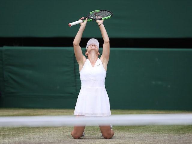 Result: Simona Halep reaches third Italian Open final with win over Garbine Muguruza
