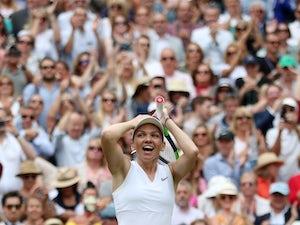 Simona Halep stuns sloppy Serena Williams to win first Wimbledon title
