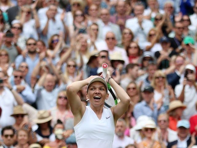 Result: Simona Halep stuns sloppy Serena Williams to win first Wimbledon title