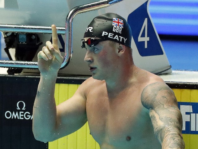 Result: Adam Peaty smashes own 100m breaststroke record in South Korea