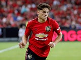 Daniel James in action for Manchester United on July 20, 2019