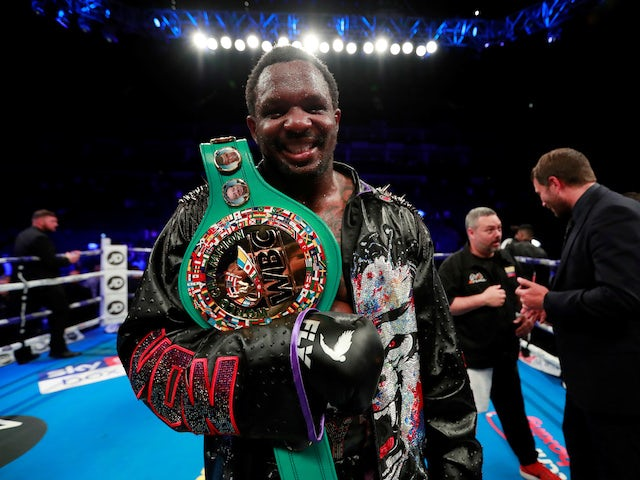 Frank Warren: 'Dillian Whyte has lost his chance of facing Tyson Fury'