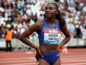 Dina Asher-Smith sends message to rivals with silver at Anniversary Games
