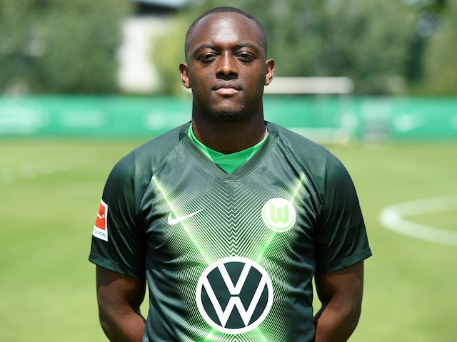 Wolfsburg defender Jerome Roussillon pictured in July 2019
