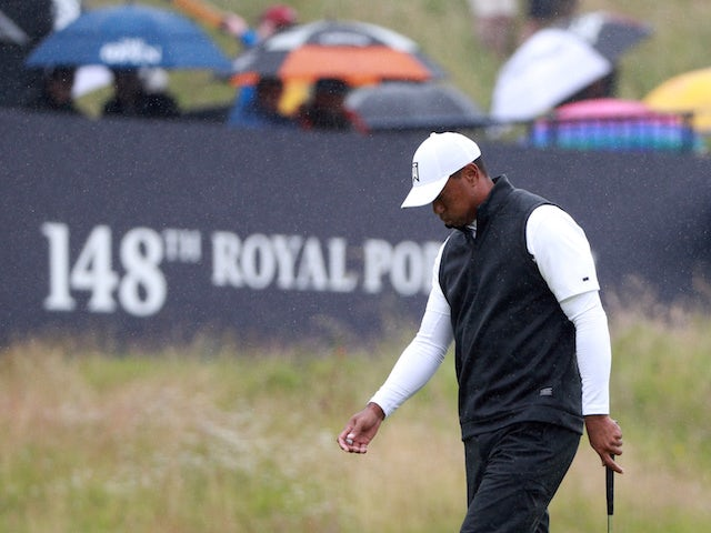 Tiger Woods looking likely to miss cut at Open