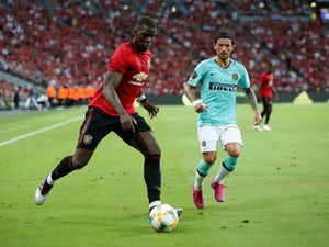 Manchester United midfielder Paul Pogba in action against Inter Milan in the International Champions Cup on July 20, 2019