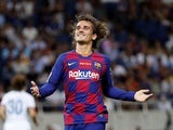 Antoine Griezmann in action for Barcelona on July 23, 2019