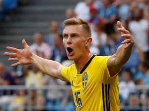 Sweden full-back Emil Krafth undergoing Newcastle medical