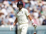 Joe Root is dismissed on July 24, 2019