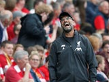 Liverpool manager Jurgen Klopp watches on during the pre-season clash with Napoli on July 28, 2019