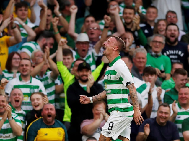 Griffiths admits being close to tears after Celtic goal