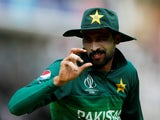 Mohammad Amir in action for Pakistan on July 5, 2019