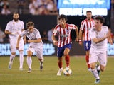 Atletico Madrid's Joao Felix in action against Real Madrid in the International Champions Cup on July 26, 2019