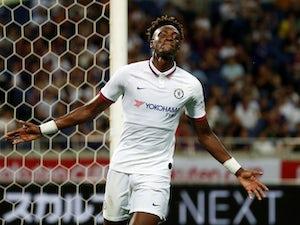 Tammy Abraham celebrates scoring for Chelsea on July 23, 2019