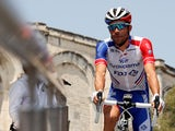 Thibaut Pinot in action at the Tour de France on July 23, 2019