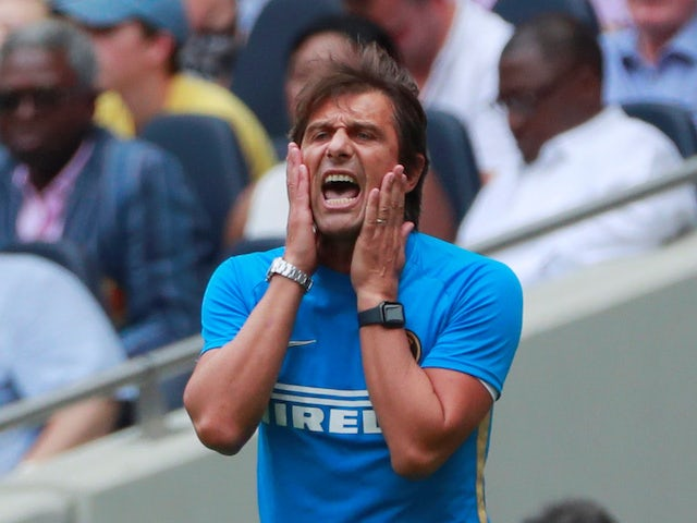 Inter Milan manager Antonio Conte pictured on August 4, 2019