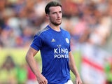 Ben Chilwell in action for Leicester City on July 23, 2019