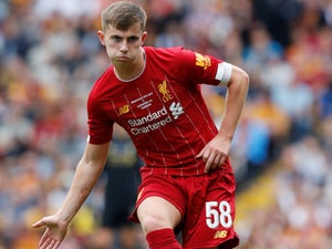 Liverpool welcome Ben Woodburn back after Blackpool loan spell