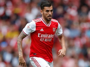 Dani Ceballos in action for Arsenal on July 28, 2019
