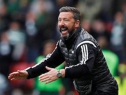 Aberdeen boss Derek McInnes pictured in April 2019