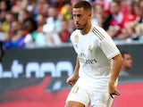 Eden Hazard in action for Real Madrid on July 30, 2019